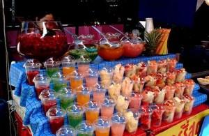 De markten in Bangkok zijn bijzonder kleurrijk.