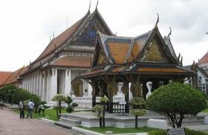 Het Nationaal Museum van Bangkok is gevestigd in een 18e eeuws paleis.