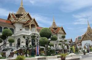 Het Grand Palace ligt in Rattanakosin, het historische hart van Bangkok.
