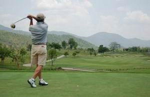 In Chiang Mai zijn de laatste jaren diverse schitterende golf banen aangelegd.
