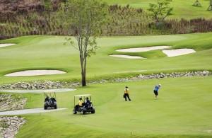 In de regio Hua Hin en Cha-am liggen diverse fraaie golfbanen van wereldklasse.