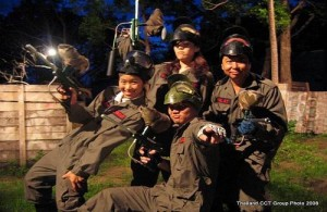 Paintball is een van de activiteiten in het Hua Hin Safari & Adventure park.