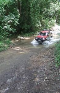 Het Kaeng Krachan National Park kun je het beste met een 4x4 jeep te bereizen.