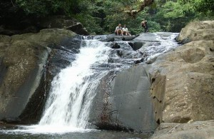 De Pa La-U waterval is een ideale plek om te lunchen, af te koelen of te zwemmen.