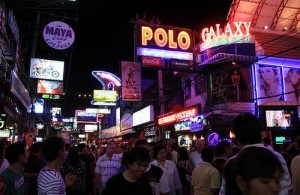 Walking Street is het centrum van het nachtleven in Pattaya.