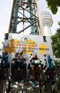 Pattaya Park Funny Land is een waardig pretpark.
