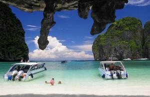 Rondom Phuket liggen vele eilanden.