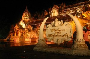 In de Palace of the Elephants wordt een wervelende show opgevoerd.