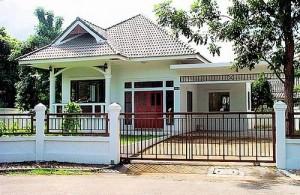 Een bungalow of villa die je in Thailand kunt huren ligt vaak in een woon-resort.