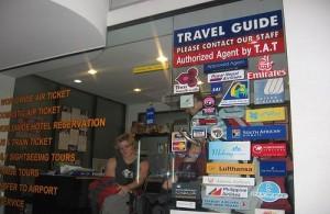 Excursies kun je o.a. boeken bij een locale reisorganisatie in Thailand.