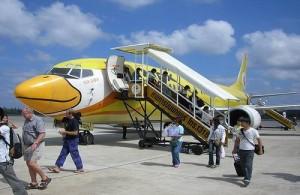 Reizen per vliegtuig is in Thailand de manier om snel en goedkoop te kunnen reizen.