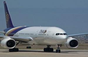 Thai airways is de grootste vliegmaatschappij van Thailand.