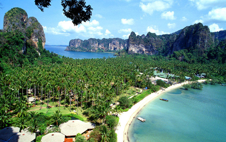 Op vakantie in en reizen naar Thailand