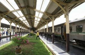 Het treinstation van Chiang Mai is het eindstation van de noordelijke spoorlijn.
