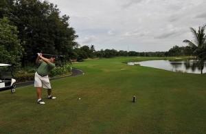 De golfbanen van de Leam Chabang Golf Club zijn ontworpen door Jack Nicklaus.