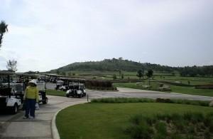 De golfbaan van de Siam Country Club behoort tot een van de meest uitdagende.