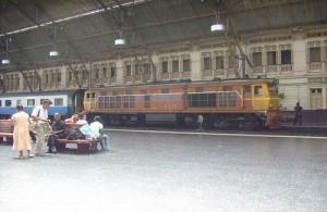 Hua Lamphong is het belangrijkste treinstation van Bangkok.
