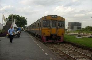 Het Bang Sue Railway Station ligt in het noordelijk deel van Bangkok.