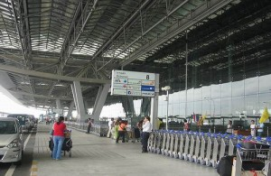 Suvarnabhumi International Airport is het belangrijkste vliegveld van Bangkok.