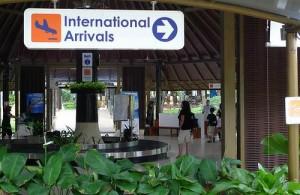 Een transfer naar je eindbestemming op Koh Samui regel je in de aankomsthal.
