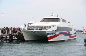 Vanuit Mae Nam Beach (Koh Samui) kun je per catamaran naar Koh Pha Ngan.