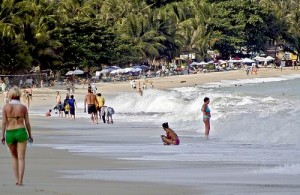 Lamai is qua populariteit het tweede strand van Koh Samui.