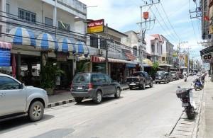 Nathon wordt gezien als de hoofdstad van Koh Samui.
