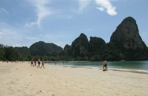 De mooie stranden en ontspannen sfeer maken Railay bijzonder.