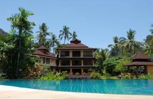 Het Railay Princess Resort ligt in een mooie tropische tuin.