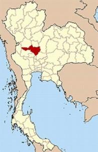 Nakhon Sawan ligt in het lage noorden van Thailand