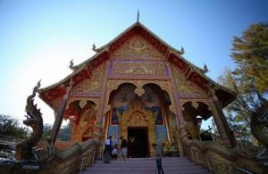 Wat Phra That Doi Wao is ook bekend als de 'Scorpion Temple'.