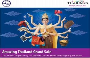 De Amazing Thailand Grand Sale 2014 is de perfecte manier om reizen en shoppen te combineren.