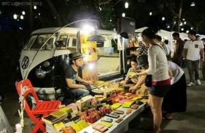 De sfeervolle Cicade Market is een bron van hedendaagse kunst op diverse gebieden.