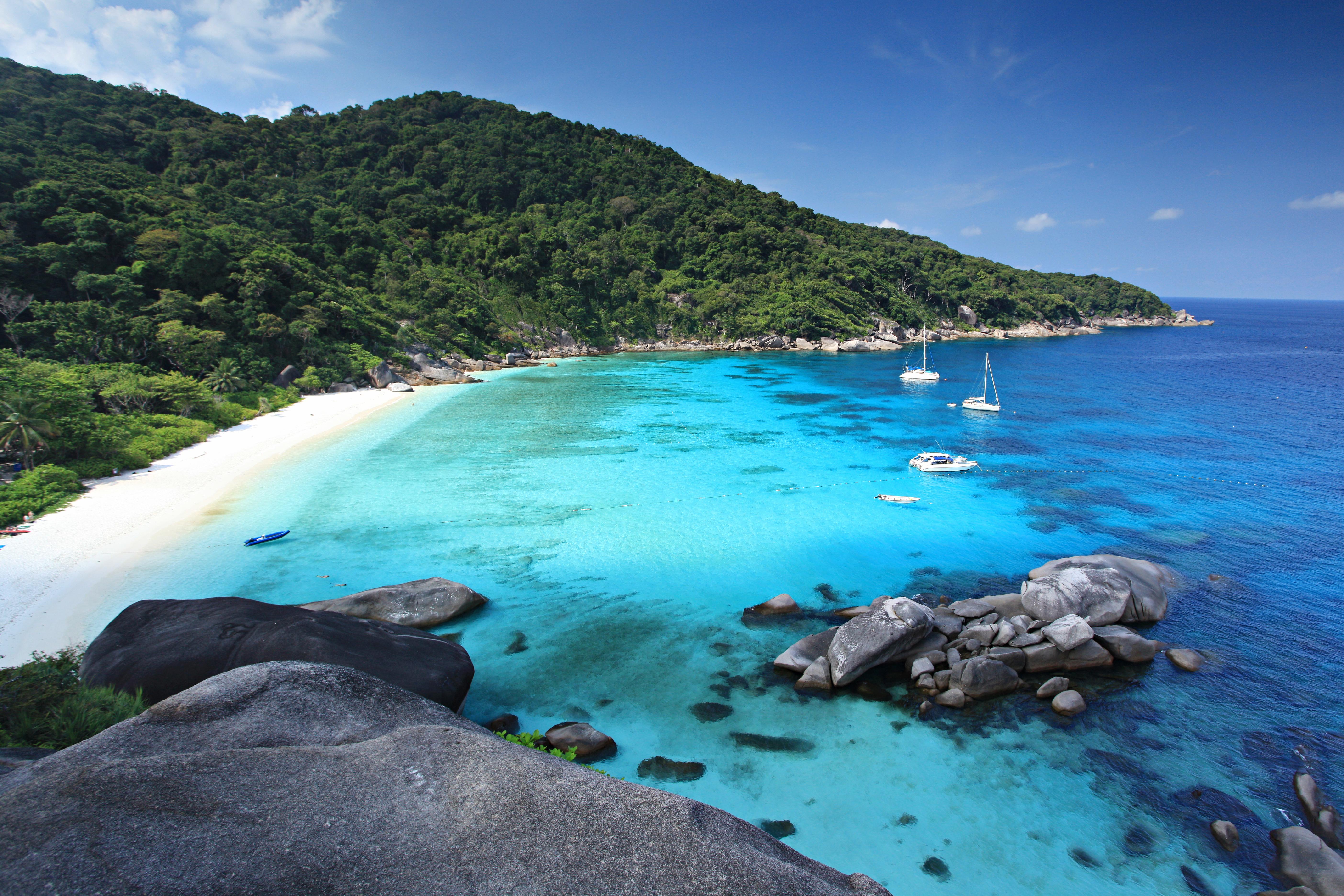 Schoonste stranden van Thailand