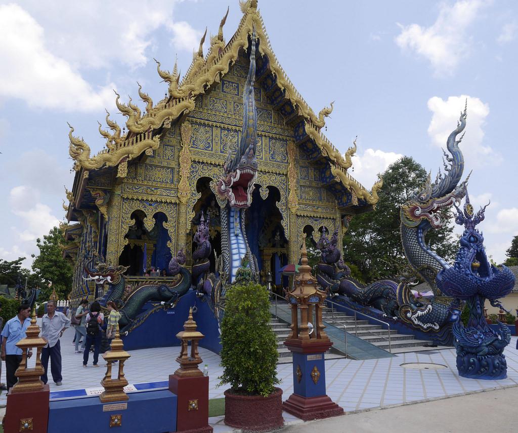 Blue Temple, nieuwste tempel in Chiang Rai