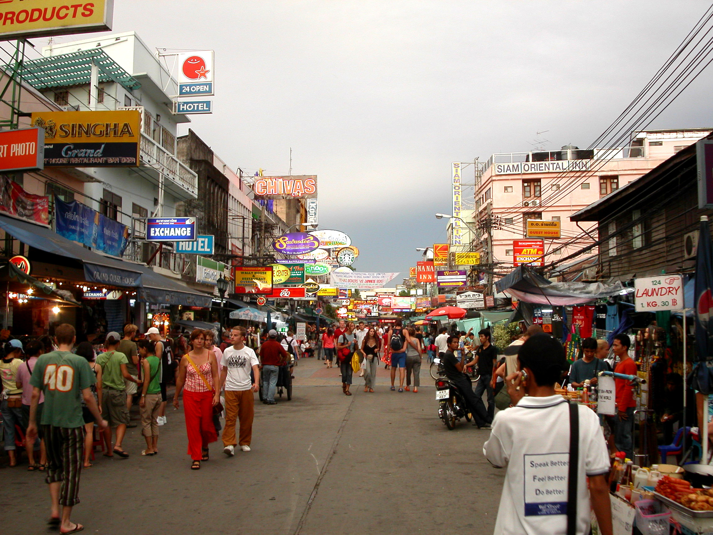 Khao San Road Bangkok krijgt facelift
