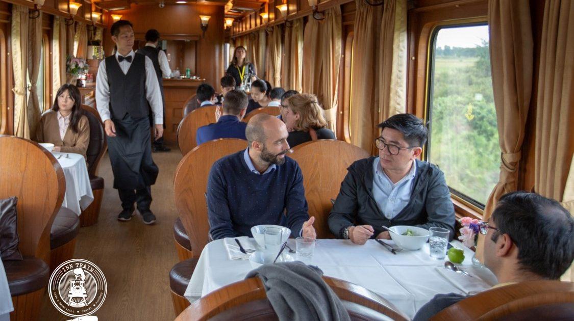 Luxe tours met de trein in Thailand