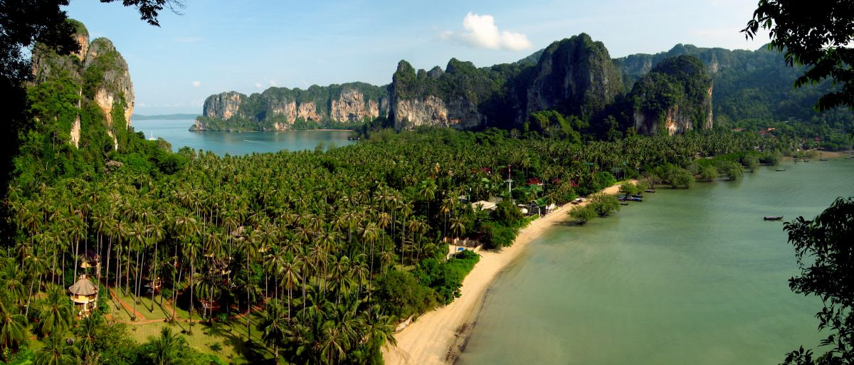 Railay is een tropisch paradijs